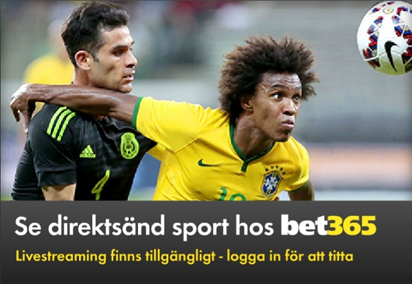 Bet365 free live streaming fotboll