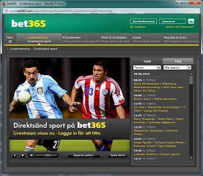 Free Live Stream Arsenal hos Bet365