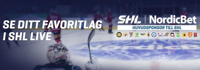 Gratis SHL biljetter 2017 från Nordicbet