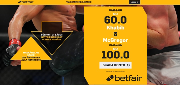 Free live stream Khabib - McGregor 6 oktober 2018