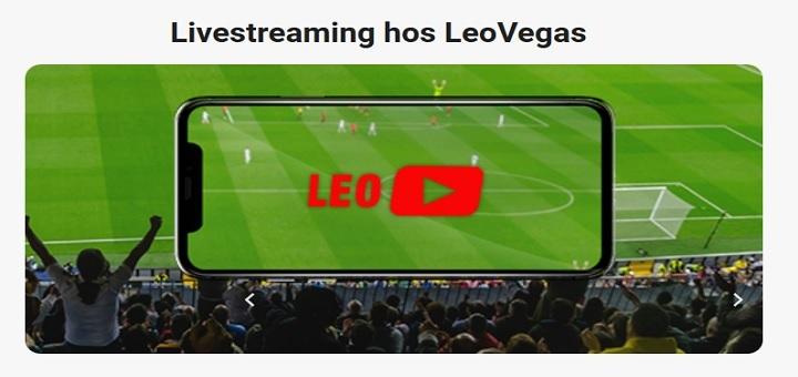 LeoVegas livestream av fotboll