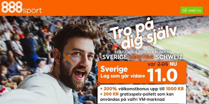 Live stream Sverige - Schweiz
